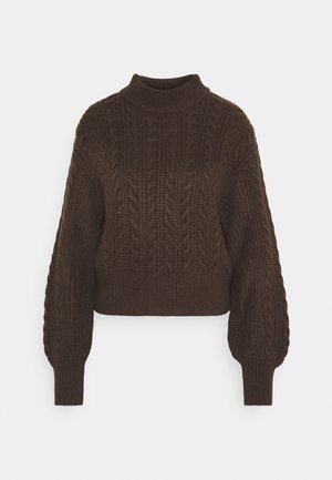TITTI - Jumper - brown dark