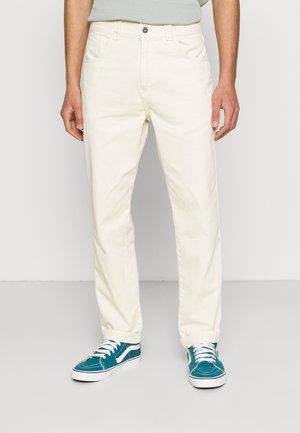 Jeans straight leg - cream