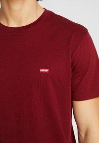 Levi's® - ORIGINAL TEE - T-shirt basique - warm cabernet - 4