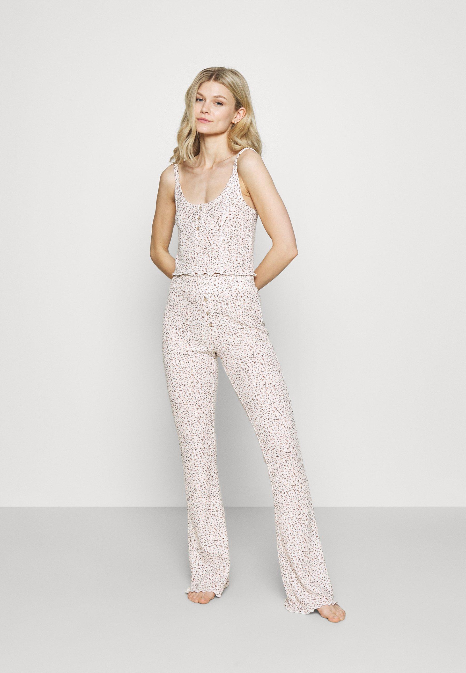 Damen WAFFLE SLEEP SINGLET AND PANT  - Pyjama