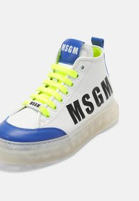 MSGM - UNISEX - High-top trainers - white - 6