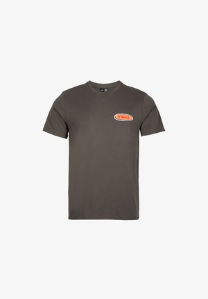 FROTH HUT - T-shirt med print - military green