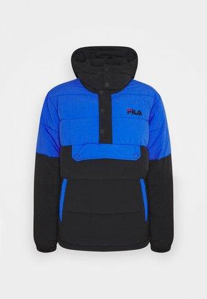 BATUL BLOCKED PUFFER  - Zimní bunda - black dazzling blue