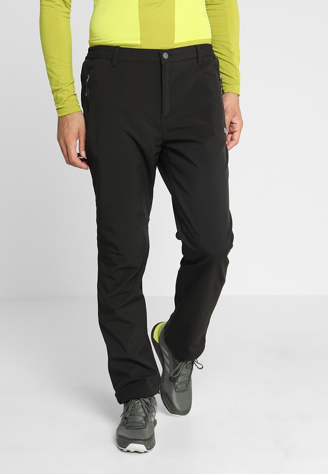 GEO Softshell II - Pantaloni outdoor - black