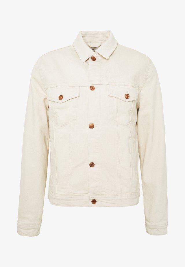LAUST JACKET  - Denim jacket - beige