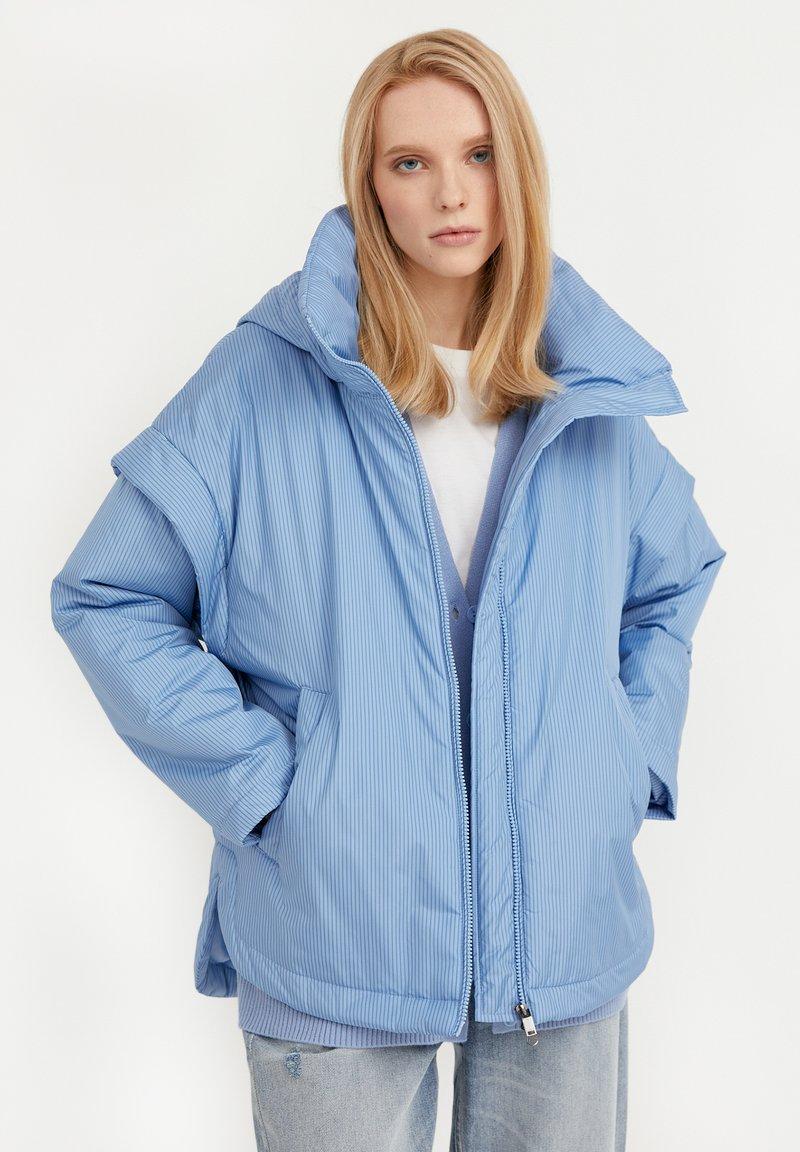 Finn Flare - Winter jacket - light blue