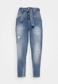 KABIRA STRETCH - Relaxed fit jeans - blend destroy