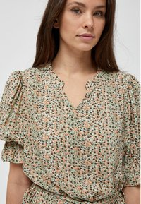 Minus - MINA  - Day dress - matcha flower print - 3
