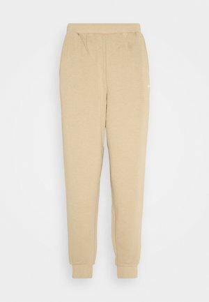 CUFFED  - Pantaloni sportivi - linen khaki