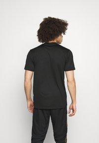 adidas Performance - TIRO PRIDE - T-shirt con stampa - black - 2