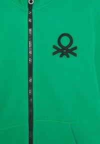 Benetton - Bluza rozpinana - green - 2