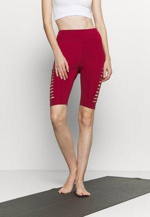 Leggings - dark red