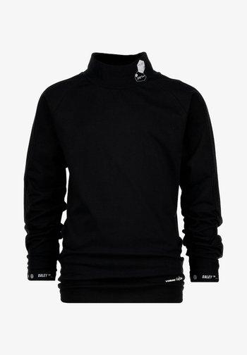 JOL - Long sleeved top - deep black