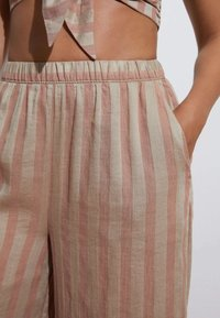 OYSHO - Trousers - brown - 0