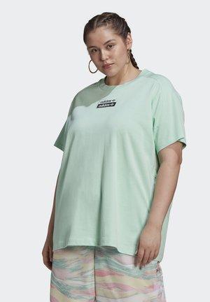 T-shirt con stampa - frozen green