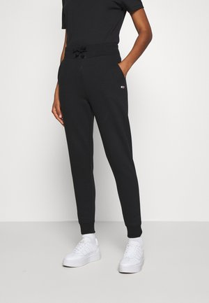 TOMMY CLASSICS - Tracksuit bottoms - black