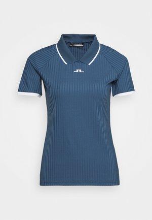 SEVINA GOLF - Print T-shirt - orion blue