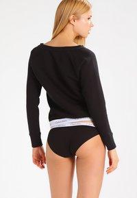 Calvin Klein Underwear - Pyžamový top - black - 2