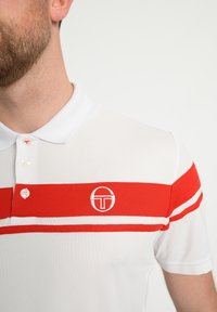 sergio tacchini - YOUNG LINE - Polo shirt - wht/red - 3