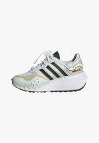 CHOIGO  - Trainers - ftwr white/core black/frozen green