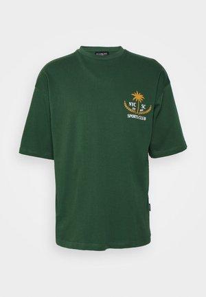 PALMA TEE UNISEX - T-shirt con stampa - dark green