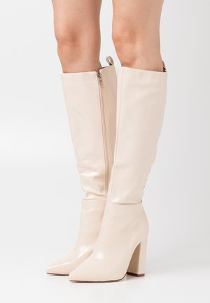 WIDE FIT  - Boots - offwhite
