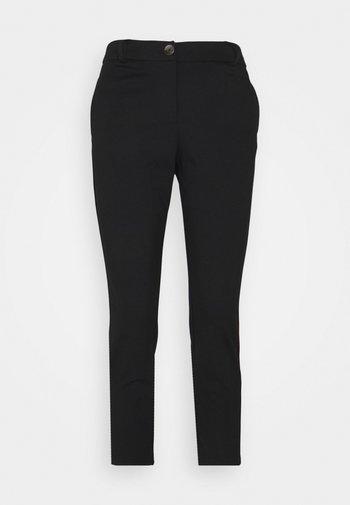 ONLADENA VIKE SLIM CIGARETTE - Trousers - black