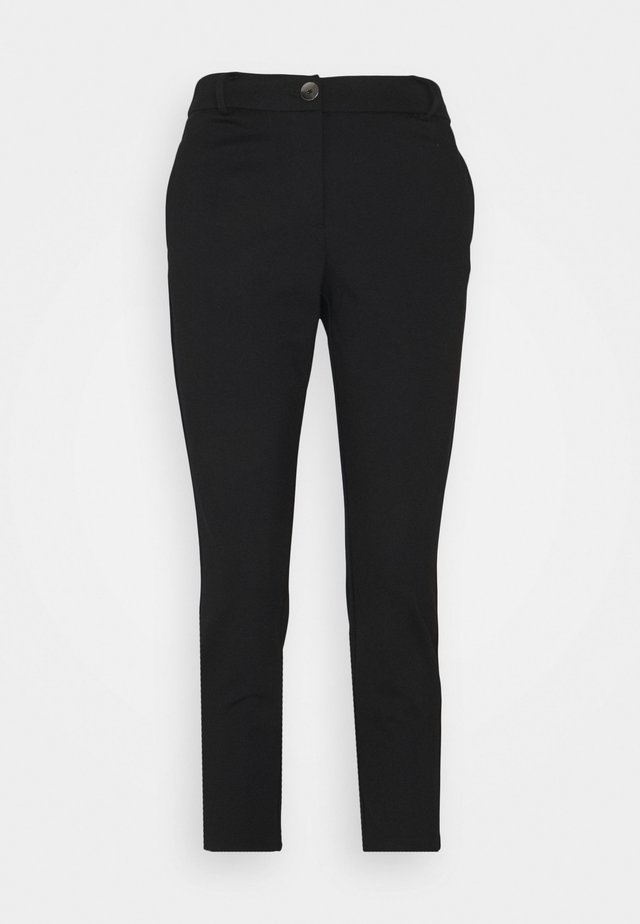 ONLADENA VIKE SLIM CIGARETTE - Broek - black