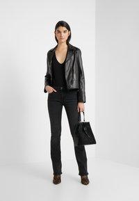 True Religion - NEW HALLE - Jeans Skinny Fit - black - 1