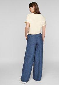 s.Oliver - Trousers - faded blue melange - 2
