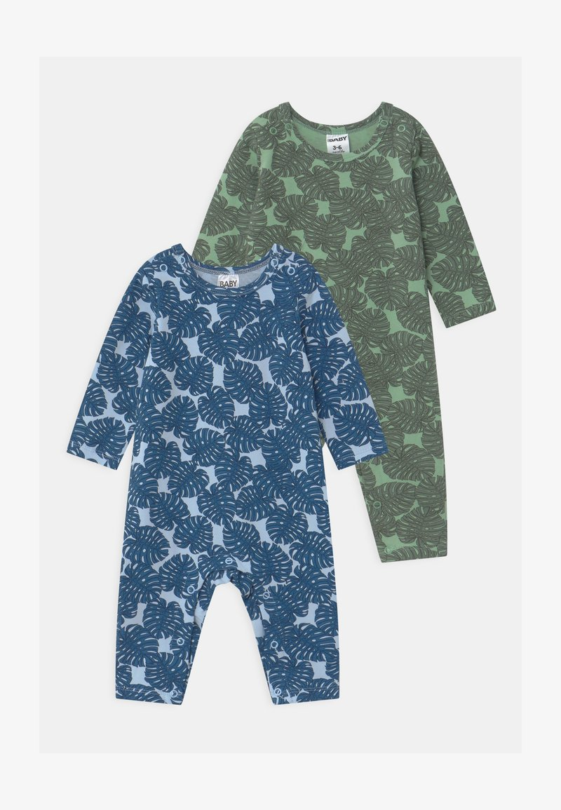 Cotton On - SNAP ROMPER UNISEX 2 PACK  - Pyžamo - multi-coloured