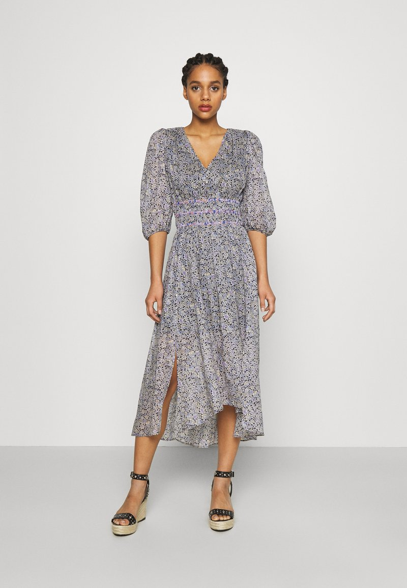 maje - RILOTA - Korte jurk - bleu