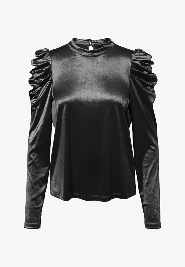 Vero Moda Bluzka - black/czarny ETDM