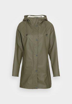 RAINCOAT - Waterproof jacket - army