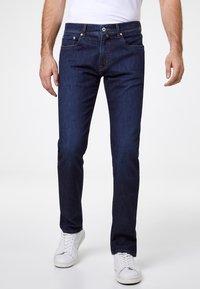 Pierre Cardin - VOYAGE LYON - Slim fit jeans - dark blue - 0