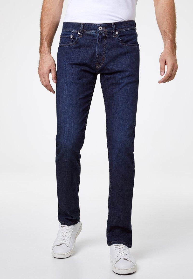 Pierre Cardin - VOYAGE LYON - Slim fit jeans - dark blue