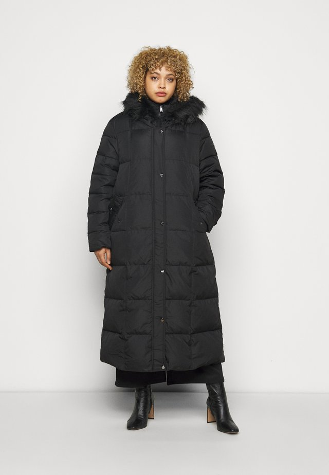 MAXI COAT - Down coat - black