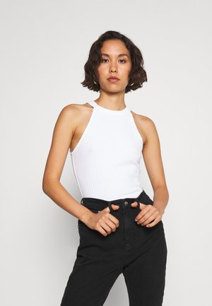 2 PACK - Top - white/black