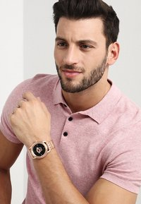 Versace Watches - PALAZZO EMPIRE - Watch - rosegold-coloured/gunmetal - 1