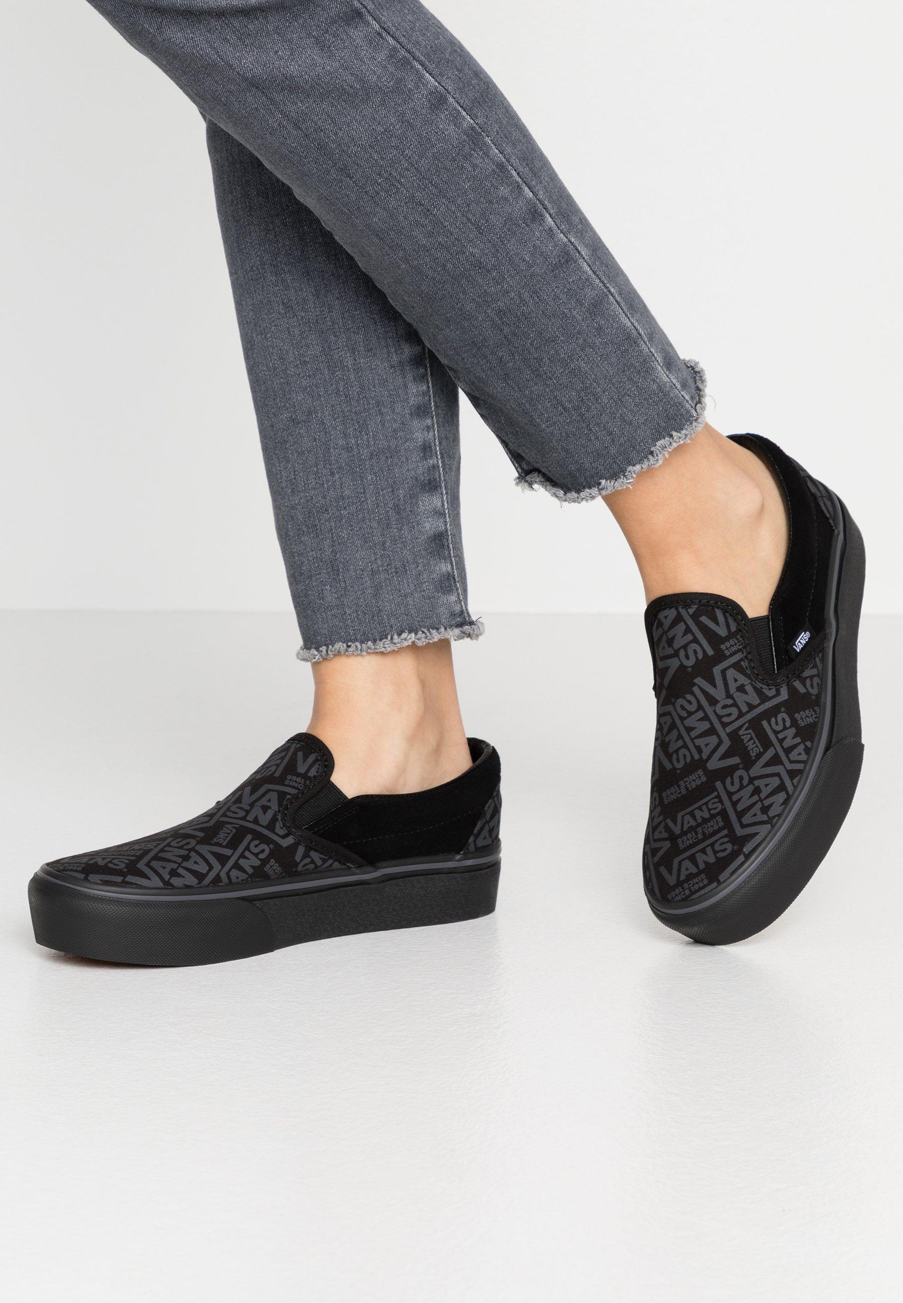 Gutes Angebot Vans CLASSIC - Slipper - black | Damenbekleidung 2020