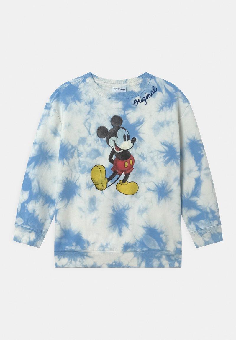 GAP - GIRL DISNEY MICKEY MOUSE CREW - Sweatshirt - blue