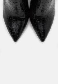 Glamorous Wide Fit - Kozaki na obcasie - black - 5