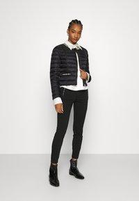Liu Jo Jeans - IMBOTTITO CORT - Light jacket - nero - 1
