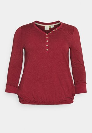 PINCH - Topper langermet - red