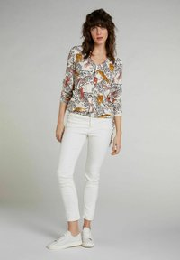 Oui - Blouse - offwhite red - 1