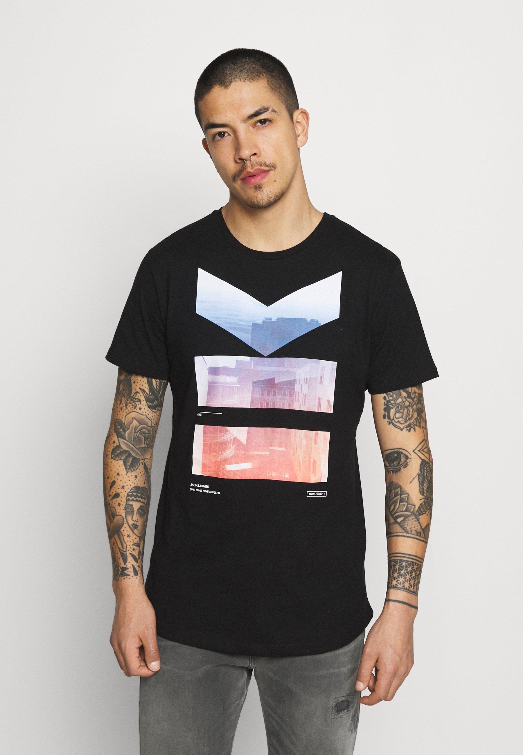 Men JCOSCAN TEE CREW NECK - Print T-shirt