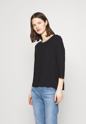 THREE QUATER SLEEVE - Blouse - black
