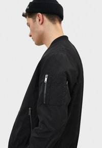 Bershka - Bomber Jacket - black - 3