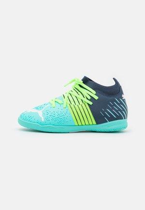 FUTURE Z 3.2 IT UNISEX - Indoor football boots - green glare/elektro aqua/spellbound