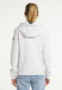 Schmuddelwedda - SWEATJACKE - Zip-up sweatshirt - wollweiss melange - 2